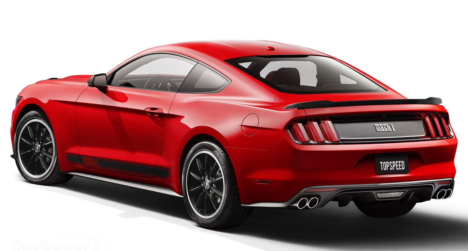 Mustang Mach 1 with 10-Speed for 2018